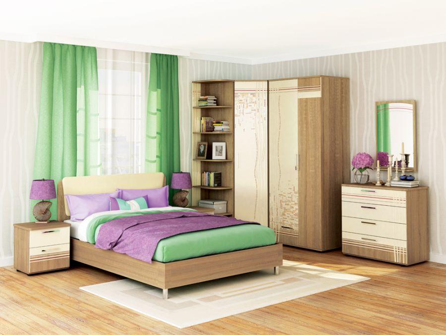 Модульная спальня «Бриз»