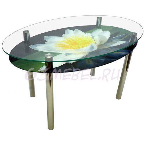 Кухонный стол, стеклянный круглый стол, стол для кухни. От