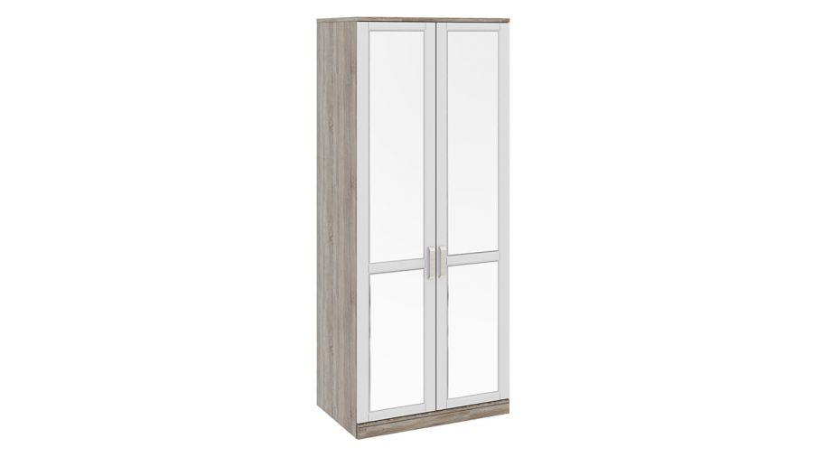 Шкаф для одежды «Прованс» (с 2мя зеркальными дверями)