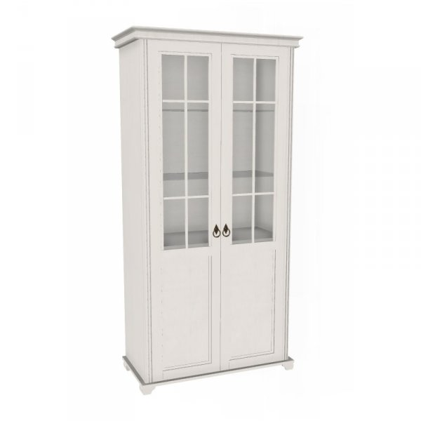 Шкаф двухстворчатый «Амели» (со стеклом)